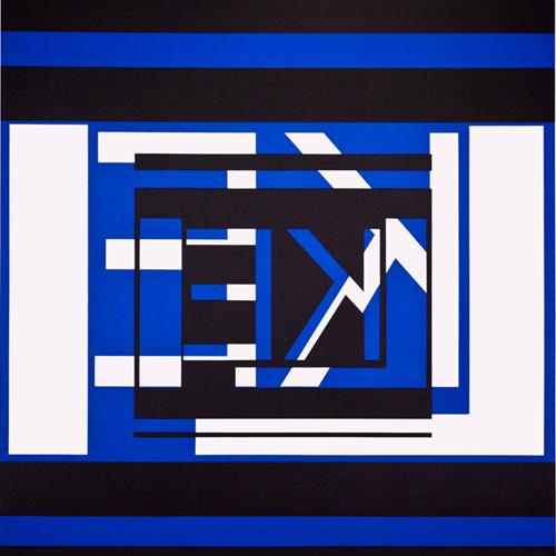 Like, 2015, Acrylic on canvas, 153 x153 cm