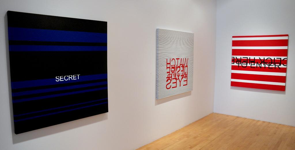 CLICK HERE TO ENTER (vue de l'exposition/ exhibition view), 2013, Galerie Graff, Montréal (QC), CAN