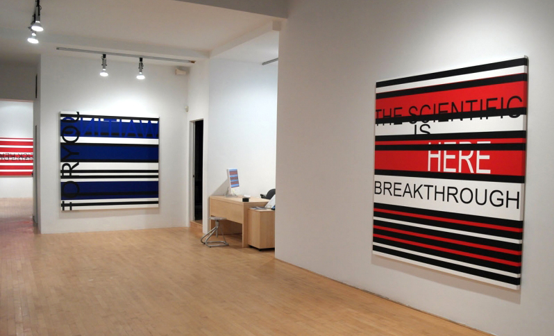 CLICK HERE TO ENTER (first part of the exhibition), 2013, Graff Gallery, Montreal, Canada