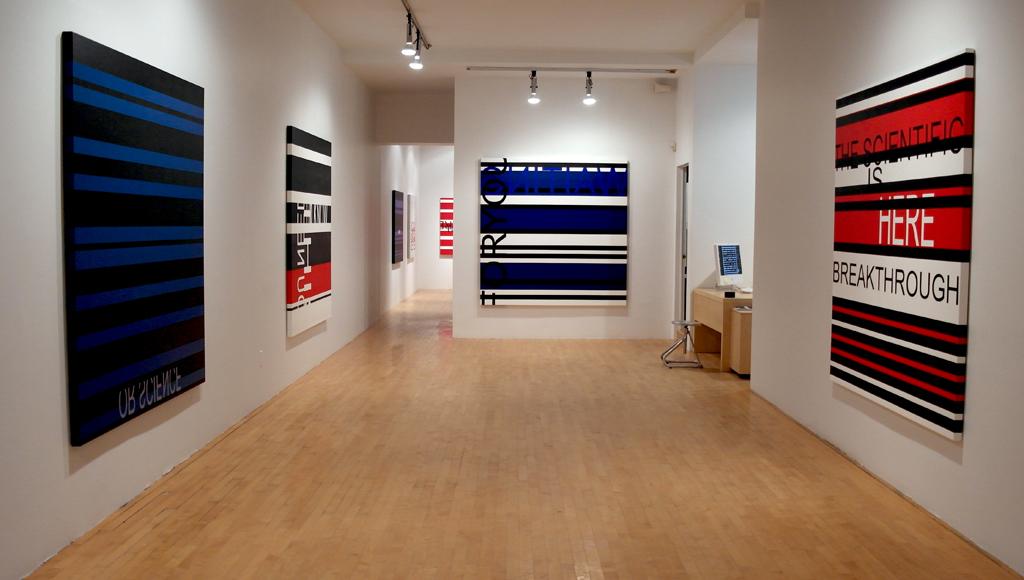 CLICK HERE TO ENTER (vue de l'exposition/ exhibition view), 2013, Galerie Graff, Montréal (QC) CAN