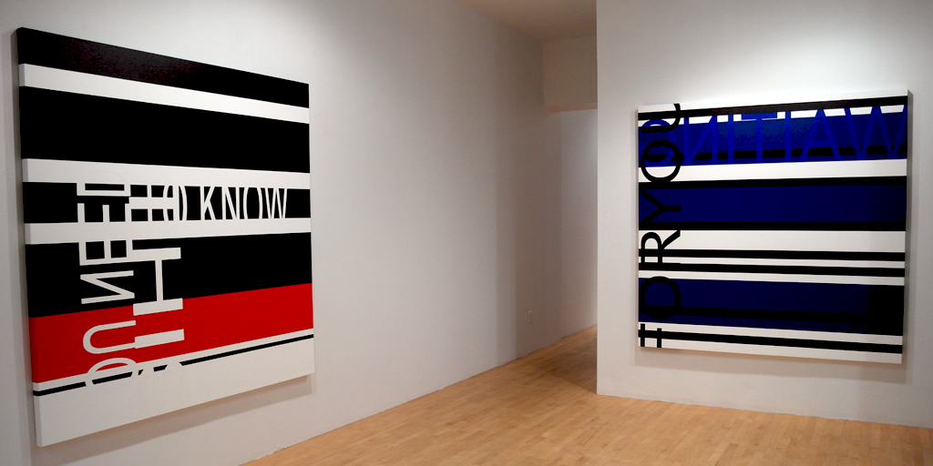 CLICK HERE TO ENTER (vue de l'exposition), 2013, Galerie Graff, Montréal (QC) CAN