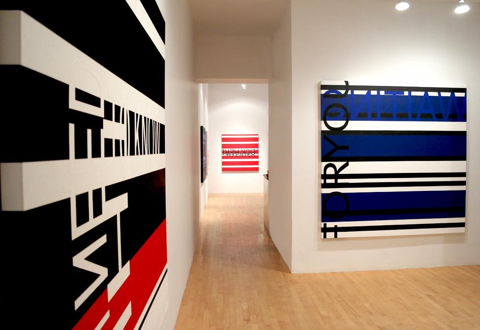 CLICK HERE TO ENTER (vue de l'exposition), 2013, Galerie Graff, Montréal, Canada