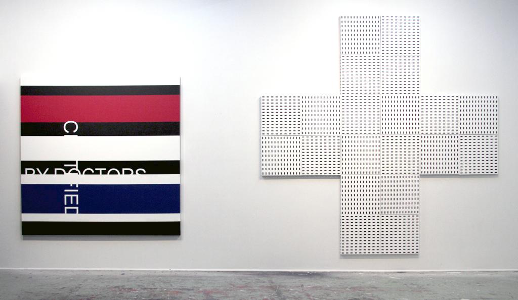 CERTIFIED BY DOCTORS,2012, ONLINE PHARMACY, 2011, artist's studio, Montreal, Canada