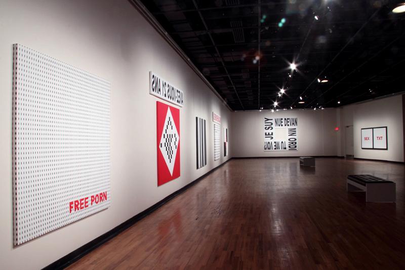 PRIORIE ONLINE (vue de l'exposition), 2009, Maison de la culture Frontenac, Montréal (QC) Canada