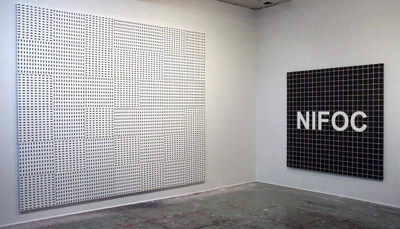 SANS TITRE, 2011 and NIFOC, 2010, artist's studio, Montreal (QC) Canada