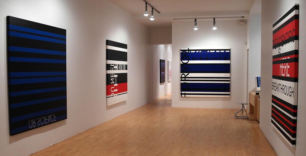 CLICK HERE TO ENTER (vue de l'exposition), 2013, Galerie Graff, Montréal (QC) Canada