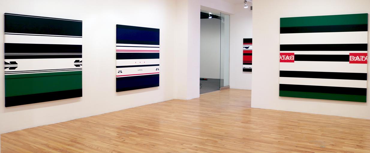 User Agreement (vue de l'exposition), 2017, Galerie Graff, Montréal.